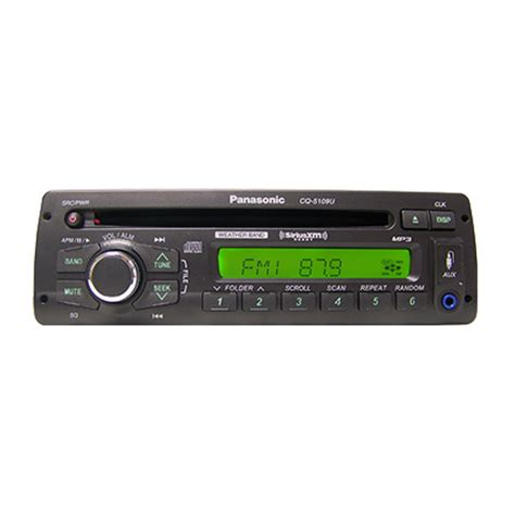 Panasonic Cqu Heavy Duty Player With