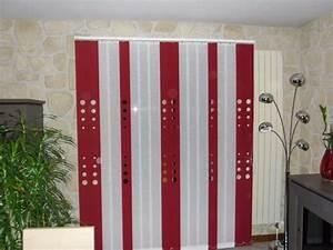 Store à Lamelles Verticales : stores bandes verticales avec d coupes laser apl textiles ~ Premium-room.com Idées de Décoration