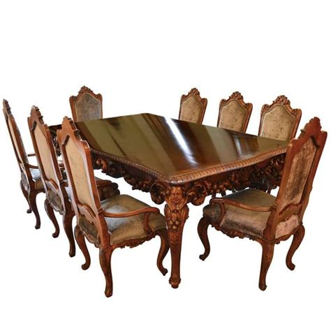 italian dining table sets antique italian dining room set with table chairs buffet