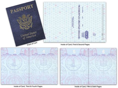 blank    passport custom passport invitations