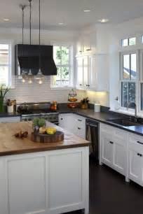 black butcher block kitchen island two tone kitchen countertops transitional kitchen artistic designs for living