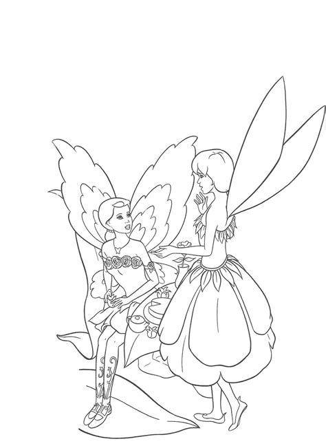 Barbie Princess Mermaid Coloring Pages Coloring Pages