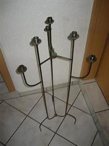 Kerzenständer Schwarz Metall : kerzenst nder aus metall schwarz h he 106 cm f r 6 kerzen in birkenheide dekoartikel kaufen ~ Indierocktalk.com Haus und Dekorationen