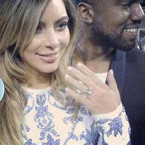 kim kardashian on kanye west engagement 39i get to marry With kim kardashian wedding ring kanye