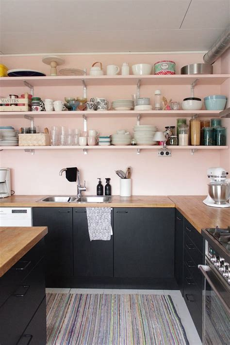 Pink Kitchen Inspiration by 25 Best Ideas About Pink Kitchen Walls On