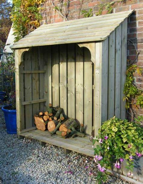 exterior remodeling outdoor firewood rack wooden