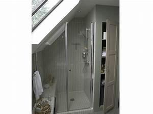 une nouvelle piece pour mes combles elle decoration With salle de bains combles
