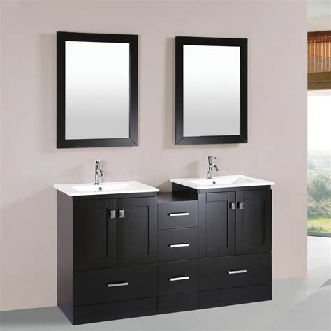 Modern Bathroom Mirror Cabinet by Pacificcollection Redondo 60 Quot Modern Bathroom Side