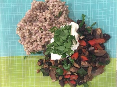 spanish black beans  buckwheat thefrypans