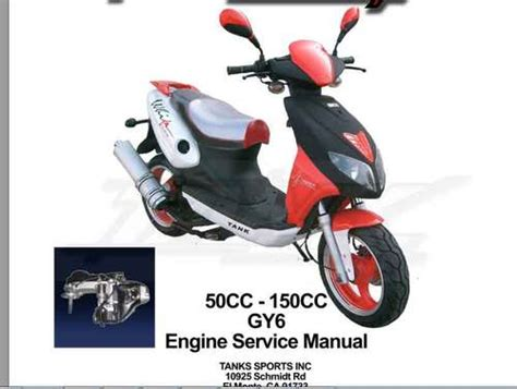 Gy6 50cc-150cc Scooter Repair/service Manual