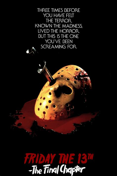 Part 4 Poster Friday The 13th Part 4 5 An Introduction The Fringes