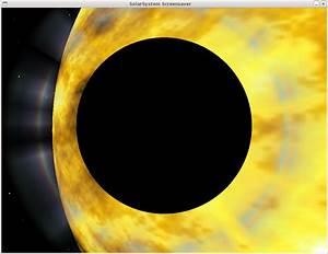 Solarsystem Screensaver