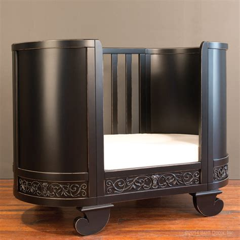 bratt decor canada chelsea crib cradle distressed black