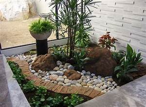 landscape for small area pertaining to your house With modele de jardin paysager 1 jardin zen modernecomment amenager un jardin harmonieux