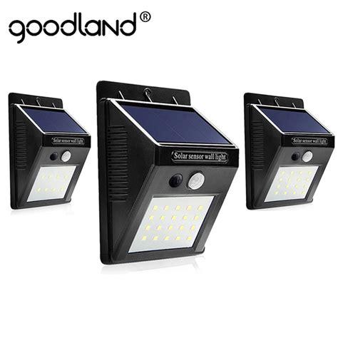 led solar light outdoor solar l with pir motion sensor
