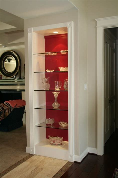 cabinet glass shelves residential gallery anchor