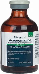 Acepromazine Maleate Injection For Dogs  Cats And Horses