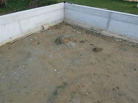 beton fertigmischung fundament hausbau galerie schaushauns