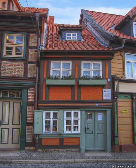 Harz  Bilder  Das Kleinste Haus In Wernigerode