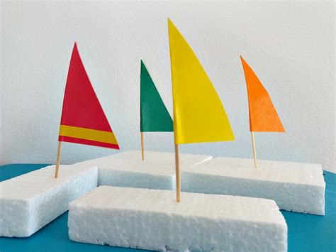 easy diy sailboat crafts  kids applegreen cottage
