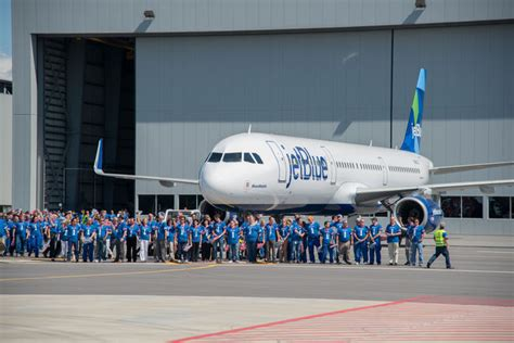 jetblue esa form jetblue receives airbus first us build aircraft