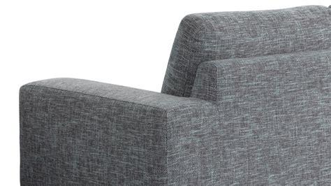 canapé 3 metres canapé de salon design en tissu gris longueur 2 mètres