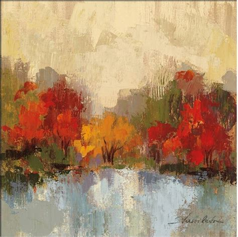Hot Sell Abstract Art On Canvas Oil Painting Landscape