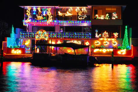 Mandurah Boat Xmas Lights by Best Christmas Lights Mandurah Decoratingspecial