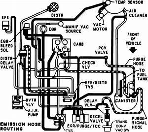 1984 Chevy C30 1ton Automatic 545 Vacuum Diagrams