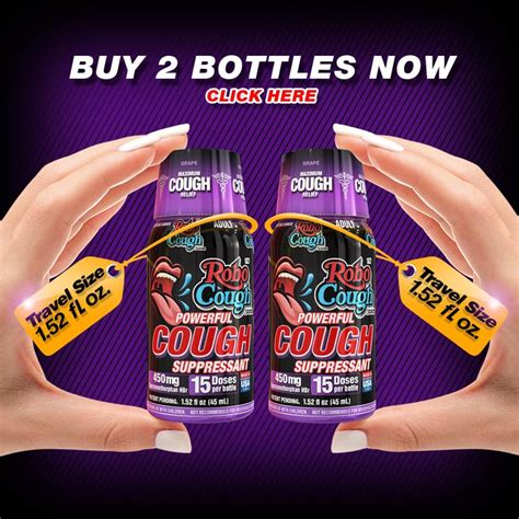 robocough concentrated maximum strength cough suppressant