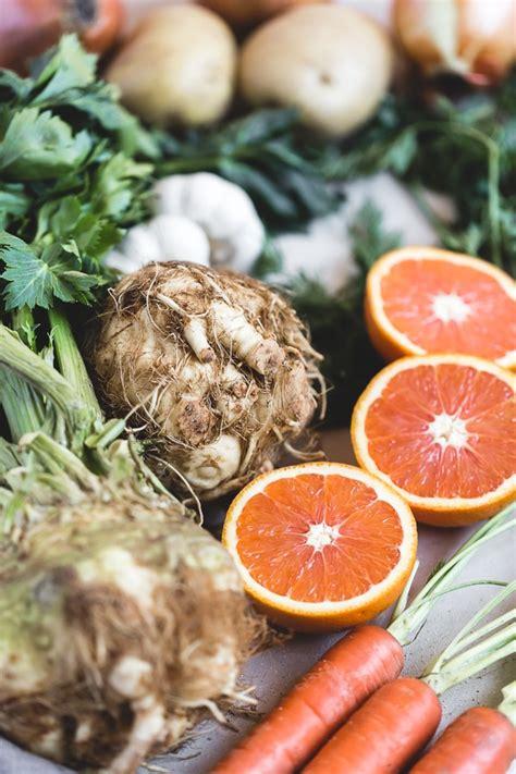 root vegetables winter pot citrusy orange recipe cooking foolproofliving juice together