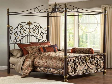 Romantic Touch Modern Canopy Bed