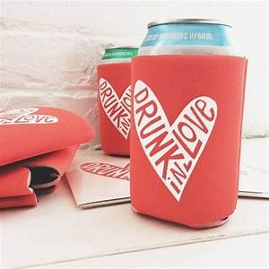 20 easy wedding favor ideas beer koozie favors and beer With beer koozie wedding favors
