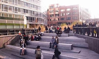 York Highline Cinemagraph Moments Ii Steps Manhattan
