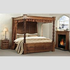 Four Poster Canopy Bed  Helenasource