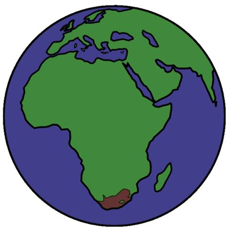 earth outline africa south africa earth graphic this was created for a