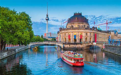 Herunterladen hintergrundbild museum island, berlin, 4k ...