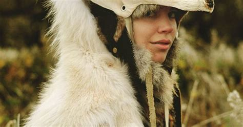 White Wolf Headdress By Casey Louise Photography, Via