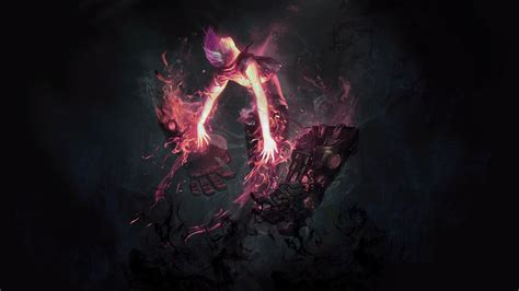 League Of Legends Anime Wallpaper - league of legends pink vi summoner anime black