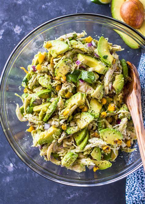 healthy avocado chicken salad gimme delicious