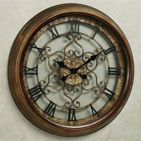 bronze wall norton wall clock wall clocks clocks and walls