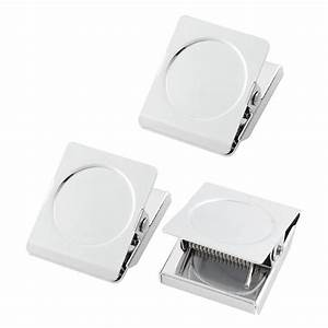 refrigerator spring loaded magnetic wall clip memo note With magnetic letter holder for fridge