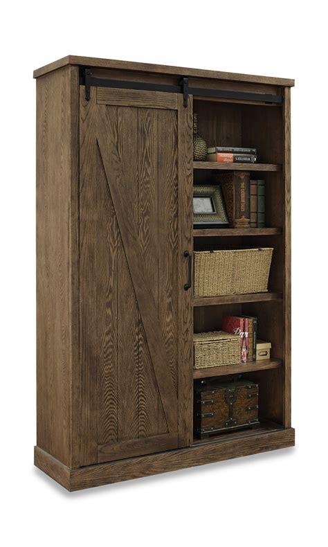 avondale barndoor bookcase hom furniture