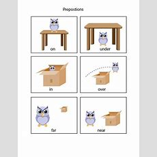 Learn Prepositions Flashcards Teaching Resources
