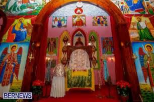 church altar decorations orthodox to celebrate christmas bernews bernews
