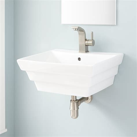 Bowers Porcelain Wallmount Sink Bathroom
