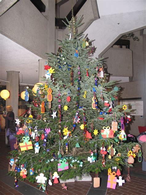 abholung der weihnachtsbaeume stadt ahlen