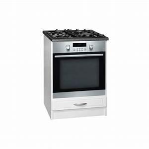 Meuble Cuisine Four : meuble de cuisine bas four encastrable 1 tiroir 60 cm dina ~ Teatrodelosmanantiales.com Idées de Décoration