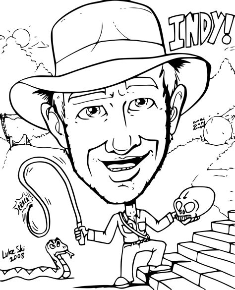 Indiana Jones Lego Coloring Pages Coloring Pages