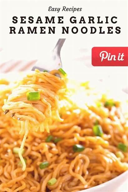 Ramen Noodle Noodles Shrimp Vegetarian Meals Sesame